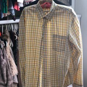 Men's IZOD, Yellow and Blue, size large